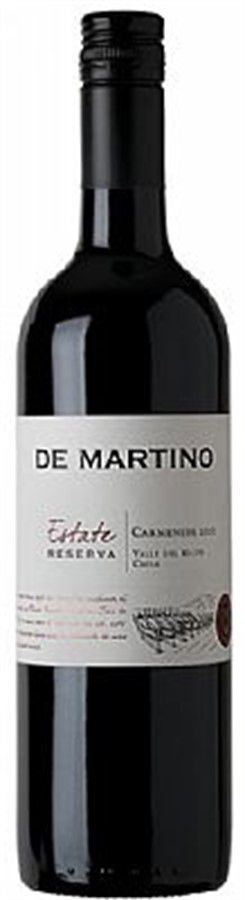 De Martino Estate Reserva Carmenère - 750ml