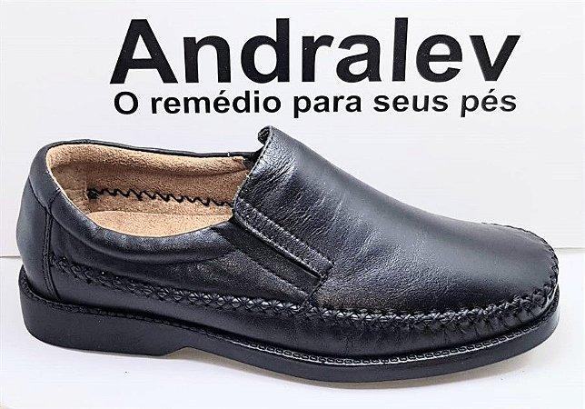 SAPATO COURO MESTIÇO ANDRALEV 334300