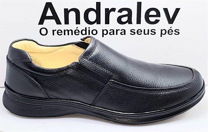 SAPATO EM COURO ANDRALEV 42050