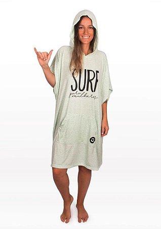 Poncho surf para mulheres