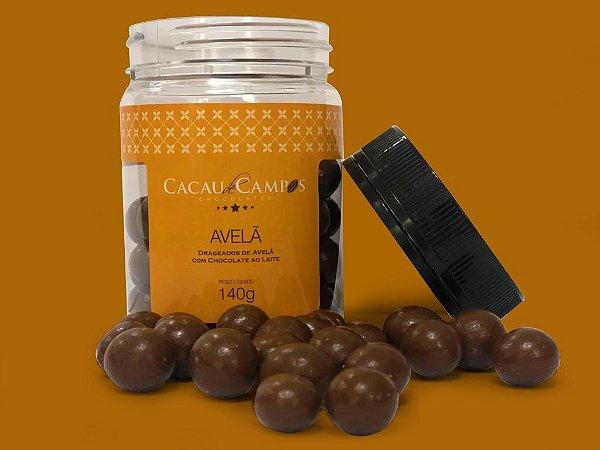 Drágeas de avelã com chocolate ao leite  - 140g