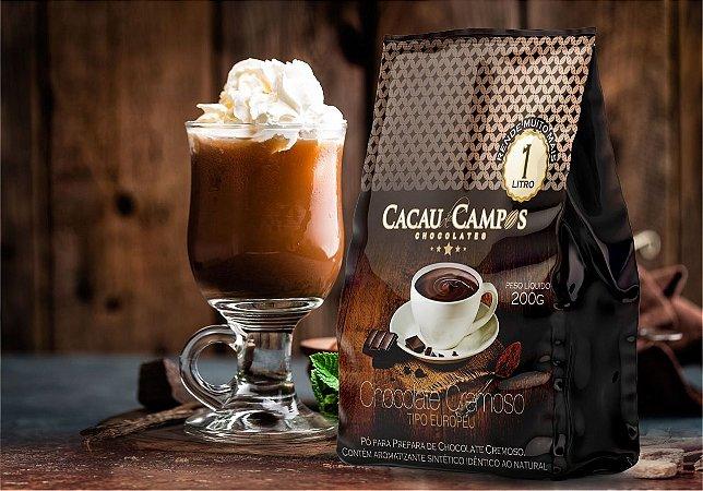 Preparo para chocolate quente cremoso 200g