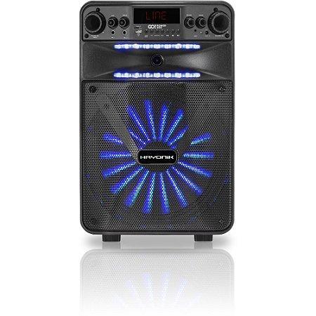 Caixa Multiuso Portátil Bluetooth/MicroSD/USB/FM 100W GO!PO