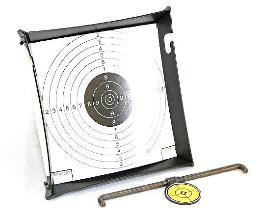 Coletor Desmontável e Pêndulo Porta Alvo Papel Padrão 15x17