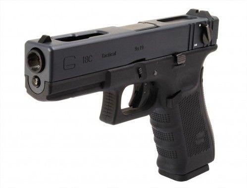 Pistola Airsoft Glock G18c Gen 4 WE GBB 6mm