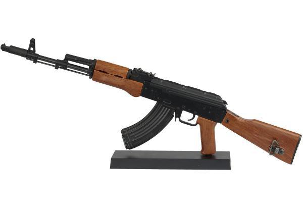 Miniatura em Metal Rifle AK74 Classic