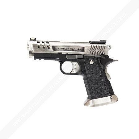 Pistola Airsoft Hi-Capa 3.8 Deinonychus SV WE GBB 6mm