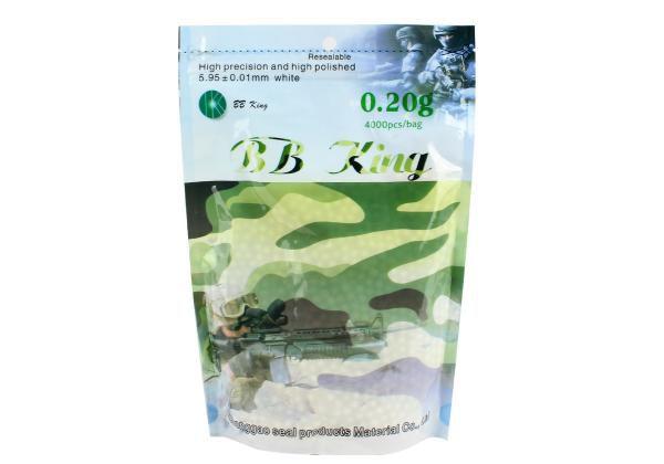 Esferas BB King 0,20 gramas - 4.000 unidades