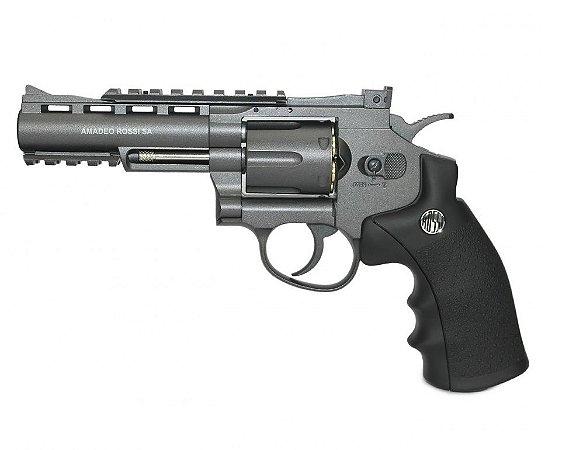 "Revólver Airgun WG701 4"" Co2 4,5mm - Full Metal"