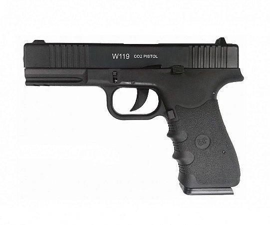 Pistola Airgun W119 Co2 4,5mm