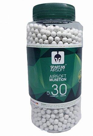 Esferas Spartan 6mm 0,30 gramas - 3.000 unidades