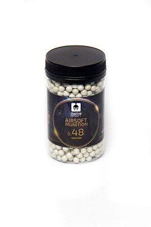 Esferas Spartan 6mm 0,48 gramas - 1.000 unidades
