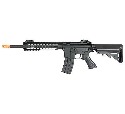 Rifle Airsoft Elétrico M4A1 Custom CM515S Black 6mm - Gatilho Eletrônico