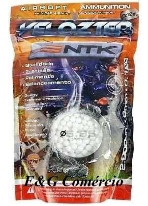Esferas Velozter 6mm 0,12 gramas - 2.000 unidades