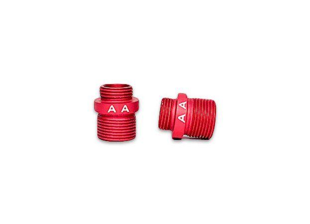 Ponta Vermelha / Adaptador para Supressor rosca Army Armament