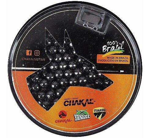 Esferas de aço 4,5mm (.177) Chakal - 300 unidades