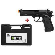 Pistola Airsoft Beretta M92 Double Bell GBB 6mm - Full Metal