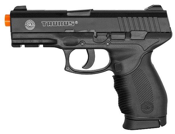 Pistola Airsoft Taurus 24/7 Co2 6mm - Slide fixo em Metal