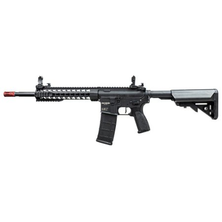 "Rifle Airsoft Elétrico AR15 Neptune 10"" Keymod Rossi - Gatilho Eletrônico"