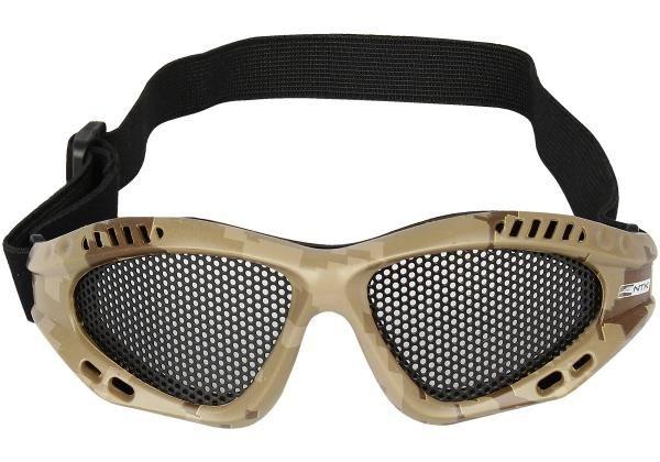 Óculos Tático de Proteção - Camuflado