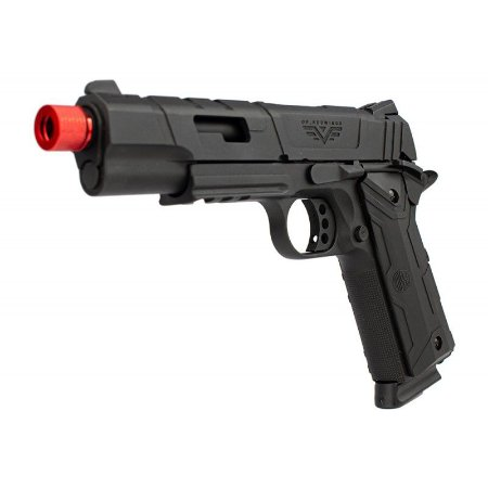 Pistola Airsoft 1911 RedWings Rossi Black GBB 6mm