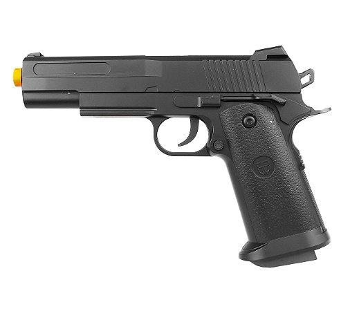 Pistola Airsoft 1911 V18 Spring 6mm - Full Metal
