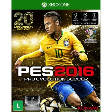 Jogo PES - Pro Evolution Soccer 2016 - Xbox One