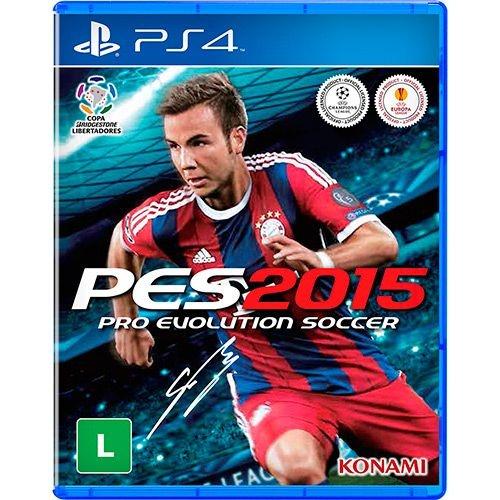 Jogo PES Pro Evolution Soccer 2015 - PS4