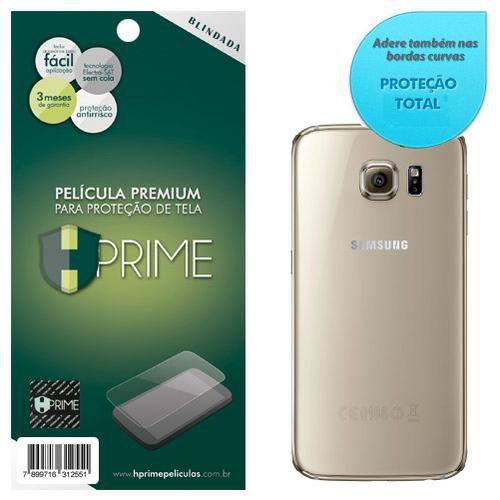 Película Traseira Hprime Blindada Curves VERSO para Samsung Galaxy S6 Edge - Cobre a parte curva