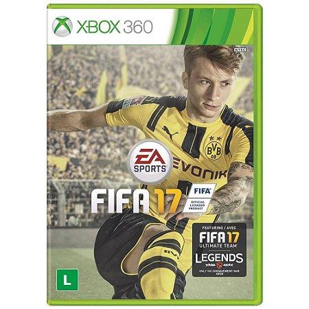 Jogo FIFA 17 - Xbox 360