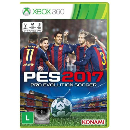 Jogo Pro Evolution Soccer PES 2017 - Xbox 360