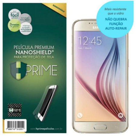 Pelicula Tela HPrime Samsung Galaxy S6 NanoShield