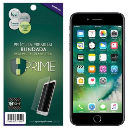 Pelicula HPrime Apple iPhone 7 Plus - Blindada Curves