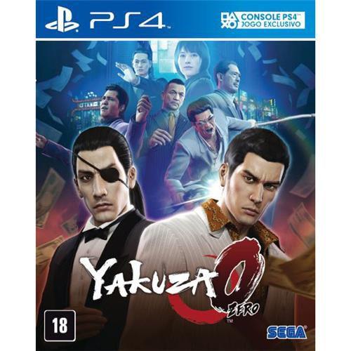 Jogo Yakuza 0 - PS4