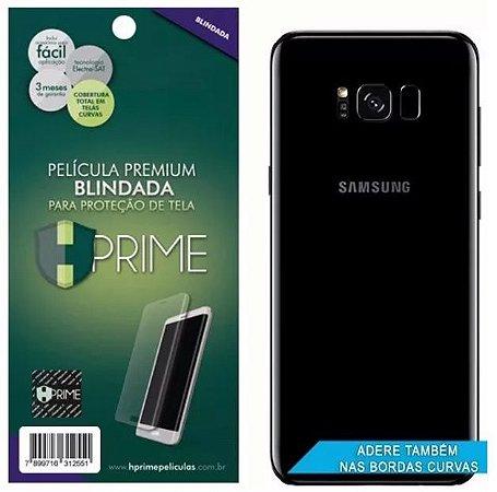 Película Traseira HPrime Curves Samsung Galaxy S8 Plus Tela 6.2 - VERSO