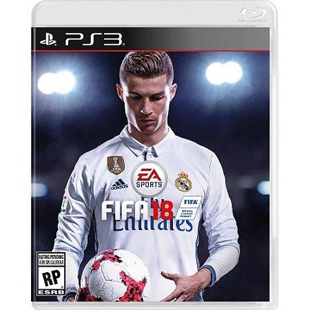 Jogo FIFA 18 PS3 - 100% em Portugues Lacrado (FIFA 2018)