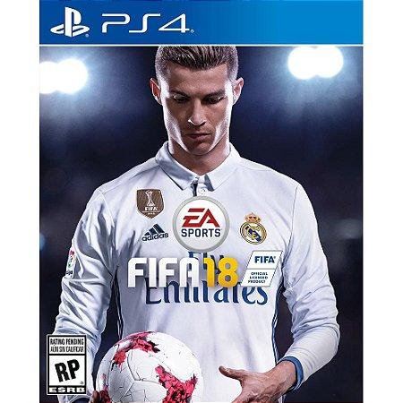 Jogo FIFA 18 PS4 - 100% em Portugues Lacrado (FIFA 2018)