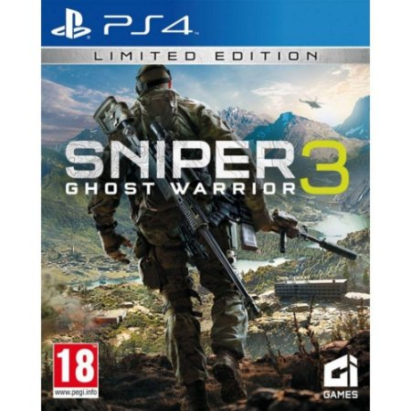 Jogo Sniper Ghost Warrior 3 Ps4