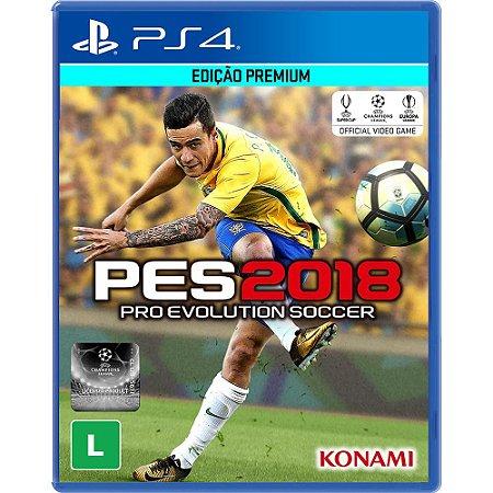 Jogo PES 18 Pro Evolution Soccer 2018  PS4