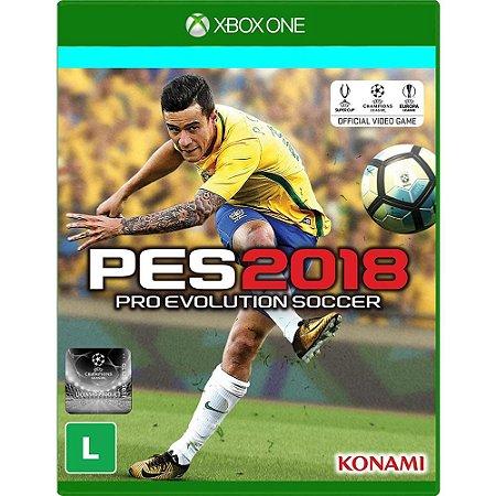 Jogo PES 18 Pro Evolution Soccer 2018  Xbox One