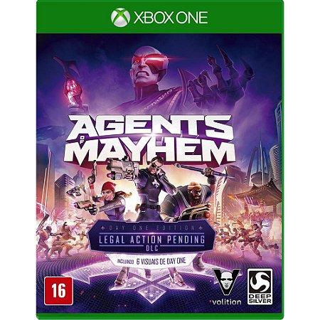 Jogo Agents Of Mayhem Xbox One