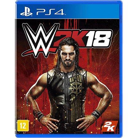 Jogo WWE 2K18 PS4