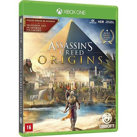 Jogo Assassins Creed Origins Xbox One