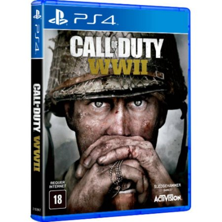 Jogo Call Of Duty World War 2 WWII (WW2) PS4
