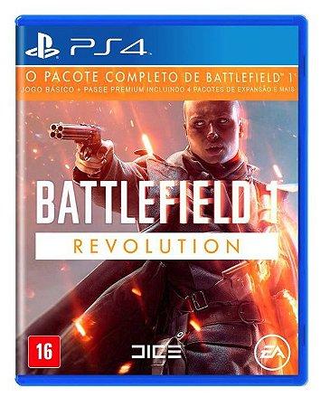 Jogo Battlefield 1 Revolution PS4 em Português