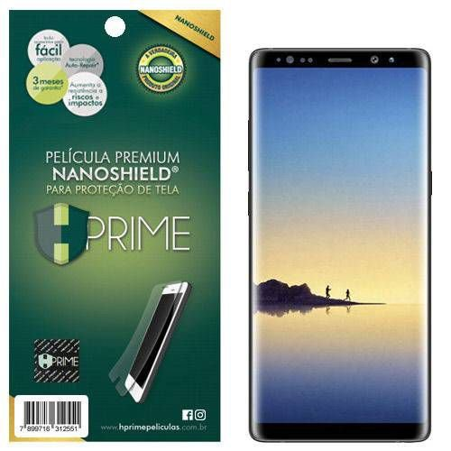 Pelicula Tela HPrime Samsung Galaxy Note 8 NanoShield