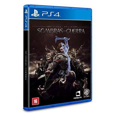 Jogo Terra Media Sombras da Guerra PS4