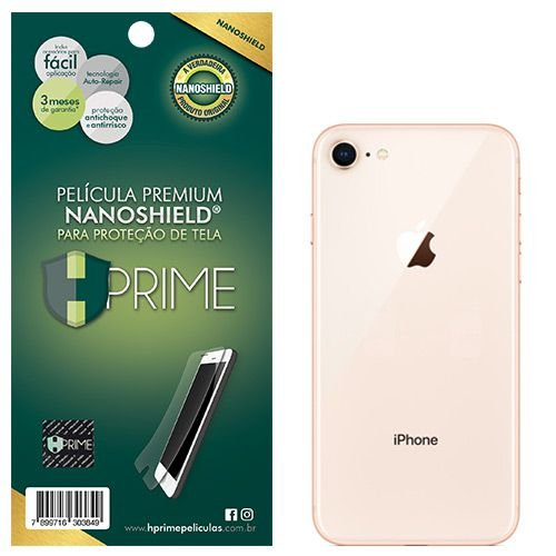Pelicula Traseira HPrime Apple iPhone 8 Plus - VERSO - NanoShield