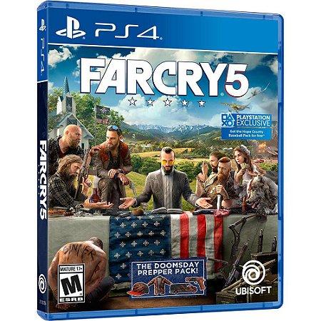 Jogo Far Cry 5 em Portugues - PS4