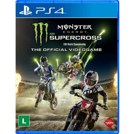 Jogo Monster Energy Supercross The O.V - PS4
